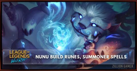 Nunu Build, Runes, Abilities, & Matchups