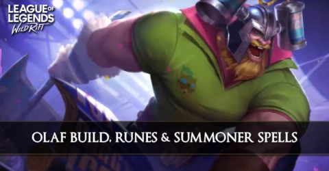 Olaf Build, Runes, Abilities, & Matchups