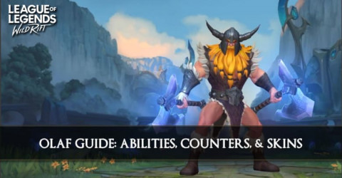 Olaf Guide, Abilities, Counters, & Skins