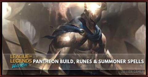 Pantheon Build, Runes, Abilities, & Matchups