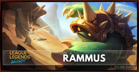 Rammus Build, Runes Abilities, & Matchups