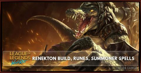 Renekton Build, Runes, Abilities, & Matchups
