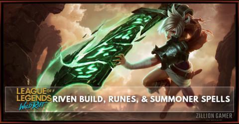 Riven Build, Runes, Abilities, & Matchups