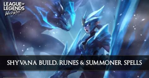 Shyvana Build, Runes, & Summoner Spells