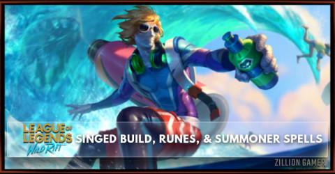 Singed Build, Runes, Abilities, & Matchups