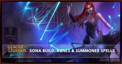 Sona Build Guide Season 1, Runes, & Skill Order