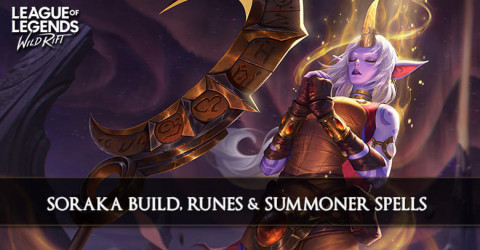 Soraka Build, Runes, & Summoner Spell