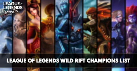 League of Legends Wild Rift Champions List