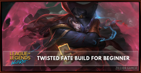 Twisted Fate Wild Rift Build Guide for Beginner