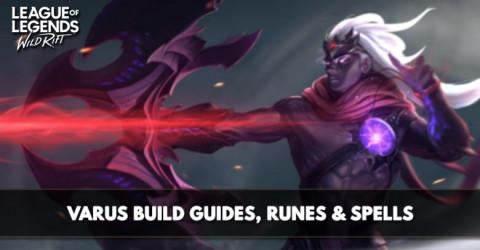 Varus Build, Runes, Abilities, & Matchups