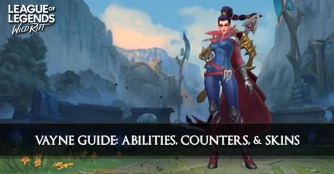 Vayne Guide League Of Legends Wild Rift Zilliongamer