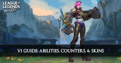 Vi Guide, Abilities, Counters, & Skins