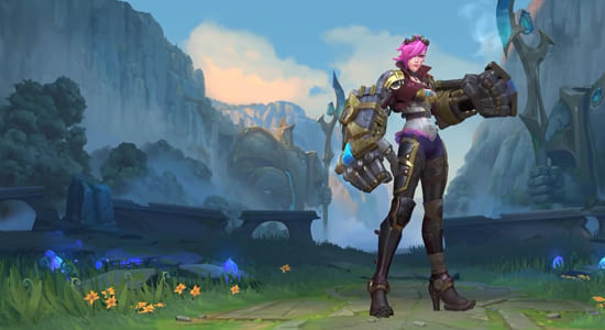 League of Legends Wild Rift Vi Default skin - zilliongamer