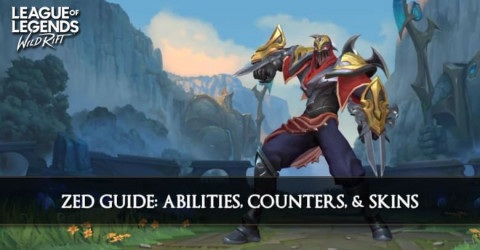 Zed Guide, Abilities, Counters, & Skins
