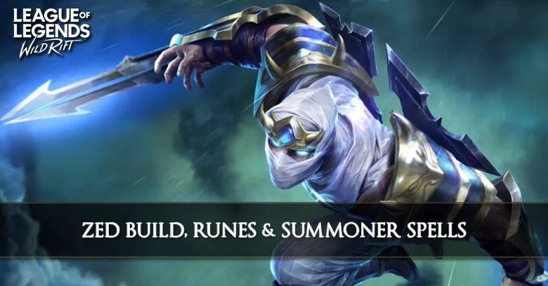 Zed Build League Of Legends Wild Rift Zilliongamer