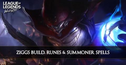 Ziggs Build, Runes, & Summoner Spells