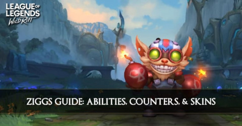 Ziggs Guide, Abilities, Counters, & Skins