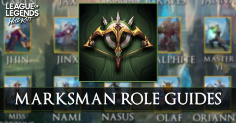 Marksman Role Guides in Wild Rift