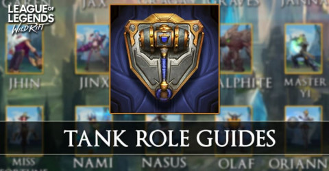 Tank Role Guides in Wild Rift