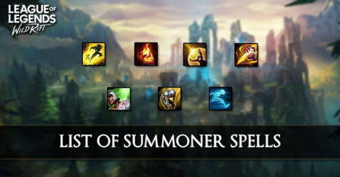List of Summoner Spells in League of Legends Wild Rift