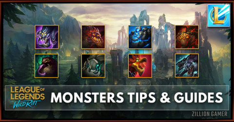 League of Legends Wild Rift Monsters Tips & Guides
