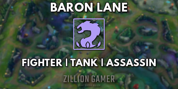 League of Legends Wild Rift Baron Lane Guide - zilliongamer