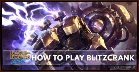 How To Play Blitzcrank In Wild Rift   Runes, Build & Abilities