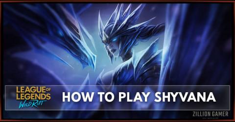 How To Play Shyvana In Wild Rift   Runes, Build, & Abilities