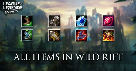 League of Legends Wild Rift Items List