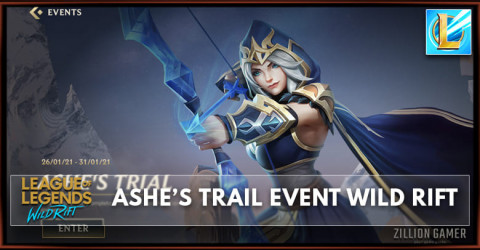 Ashe's Trail (Event) | League of Legends Wild Rift