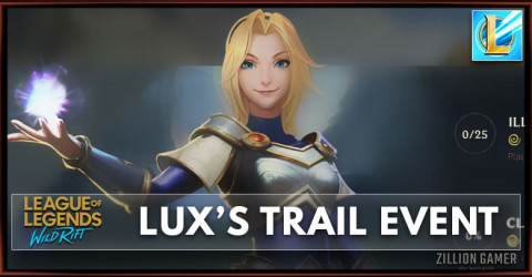 Wild Rift Lux's Trail Event