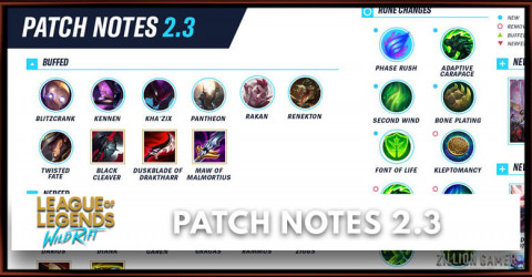 League of Legends Wild Rift Patch Notes 2.3