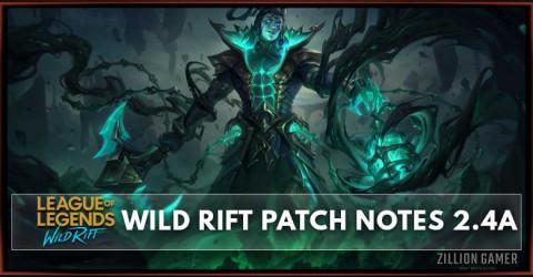 League of Legends Wild Rift Patch Notes 2.4a