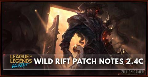League of Legends Wild Rift Patch Notes 2.4c