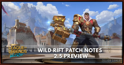 Wild Rift Patch Notes 2.5 Preview