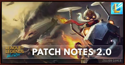 League of Legends Wild Rift Patch Notes 2.0
