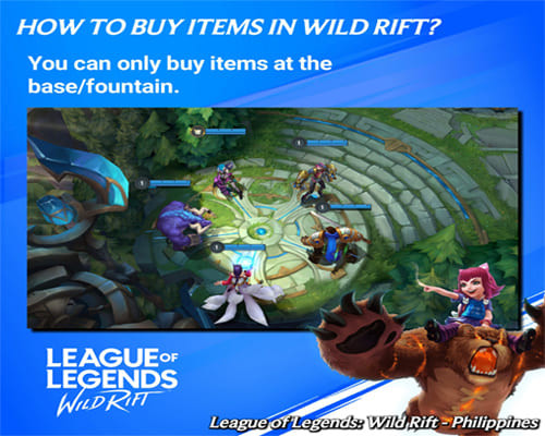 Wild Rift Alpha Test In Game: Buying Items - zilliongamer