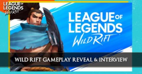 Wild Rift Gameplay Reveal In Summer Game Fest