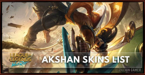Akshan Skins List in Wild Rift