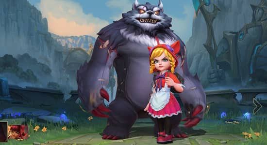League of Legends Wild Rift Red Riding Annie skins - zilliongamer