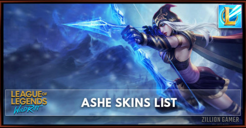 Ashe Skins List in Wild Rift
