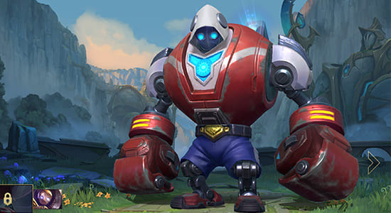 League of Legends Wild Rift Blitzcrank Boom Boom skins - zilliongamer