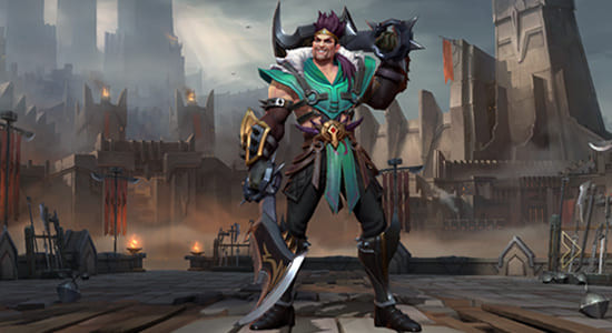 Draven Skin: The Glorious Executioner | Wild Rift - zilliongamer