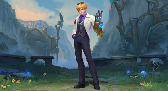 League of Legends Wild Rift Debonair Ezreal skin - zilliongamer