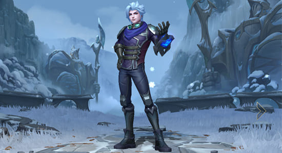 League of Legends Wild Rift Frosted Ezreal skin - zilliongamer