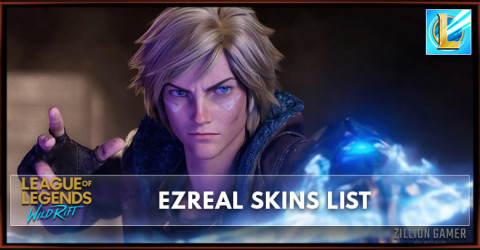 Ezreal Skins List in Wild Rift