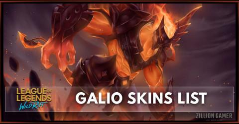Galio Skins List in Wild Rift