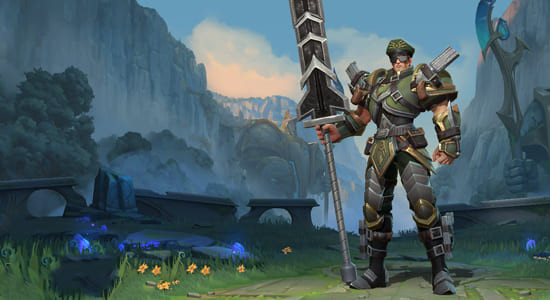 League of Legends Wild Rift Commando Jarvan IV skins - zilliongamer