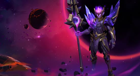 League of Legends Wild Rift Dark Star Jarvan IV skins - zilliongamer