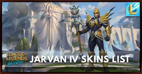 Jarvan IV Skins List in Wild Rift